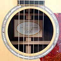 アコースティックギターのサウンドホール