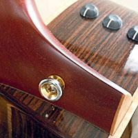 アコースティックギターのヒール