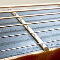 アコースティックギターののフレット