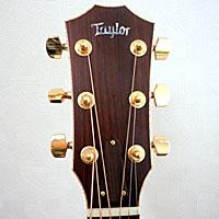 アコースティックギターのヘッド