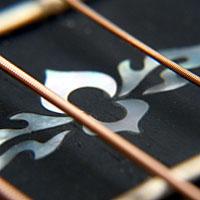 アコースティックギターのポジションマーク