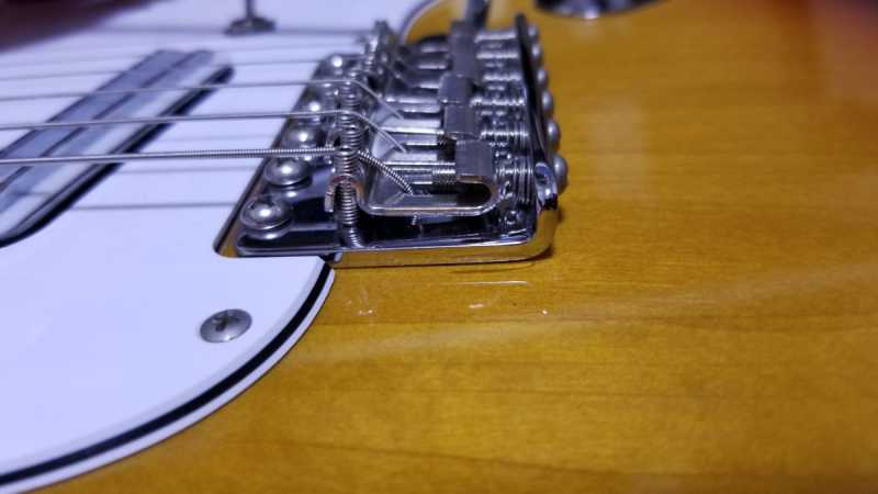 ギターのアームの種類