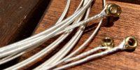 コンパウンド素材の弦