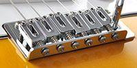エレキギターのブリッジ