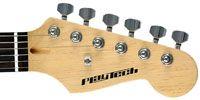 エレキギターのヘッド