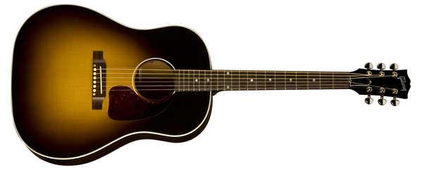 アコースティックギターのラウンドショルダー