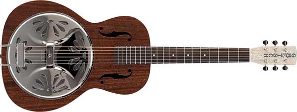 アコースティックギターのリゾネイターギター(ドブロギター)