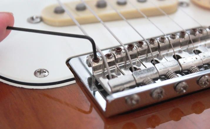 弦高の調整