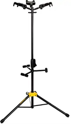 吊り下げ式は複数のギターを吊り下げることができるタイプ