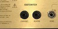 Marshall JCM2000のFOOT SWICH(フットスイッチ)