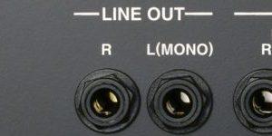 JC-120(Jazz Chorus:ジャズコ)のLINE OUT(ラインアウト)