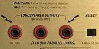 Marshall JCM2000のSPEAKER OUTPUTS(スピーカーアウトプット)