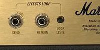 Marshall JCM2000のSEND&RETURN(センド&リターン)/FX LOOP(エフェクトループ)