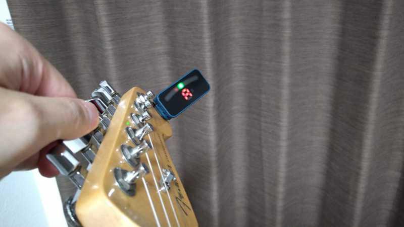 ギターのチューニングの基準音は「A(ラ)」の音