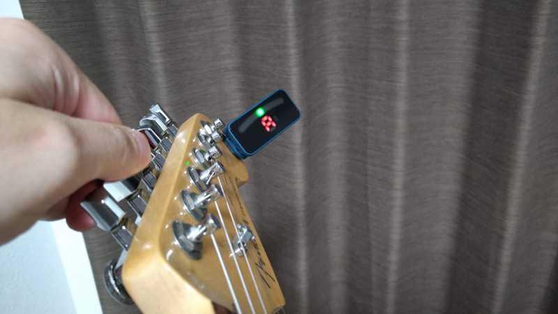 ギターのチューニング方法は3種類