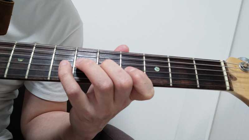 ギターのハーフフォーム