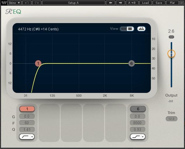 音源の下処理と全体のバランス調整