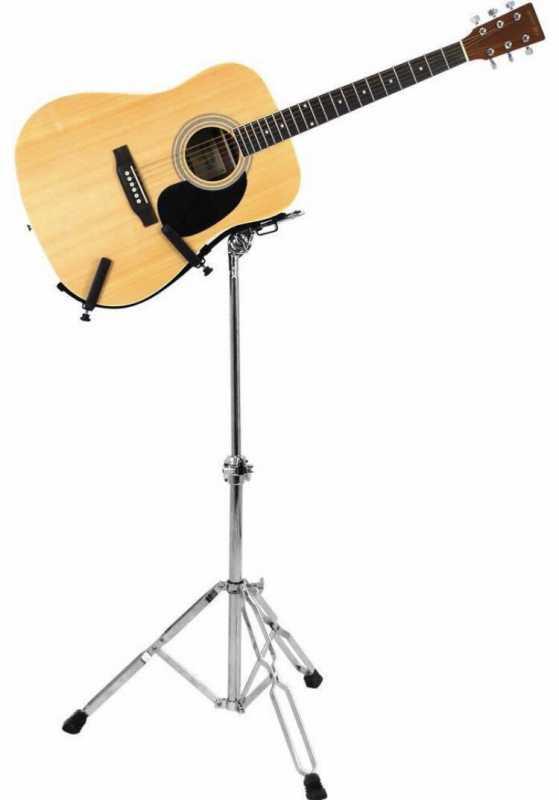 立奏用のギタースタンドを使用する