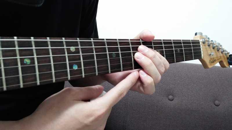 ギターのジャックオフビブラートが上手くできないときに見直すポイント