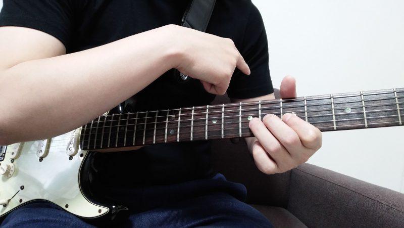 ギターのトリルの左手のやり方