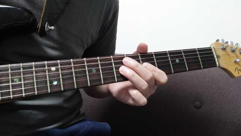 ギターのハンマリング・オンが上手くできないときに見直すポイント