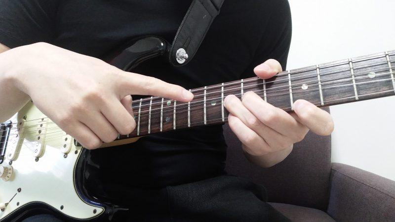 ギターのユニゾンチョーキングの左手のやり方