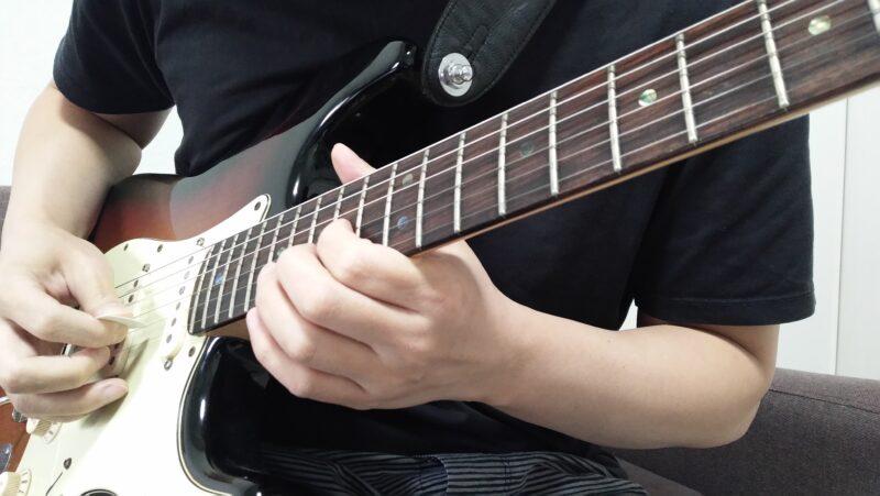 ギターのエコノミーピッキングがうまくできない時に見直すポイント
