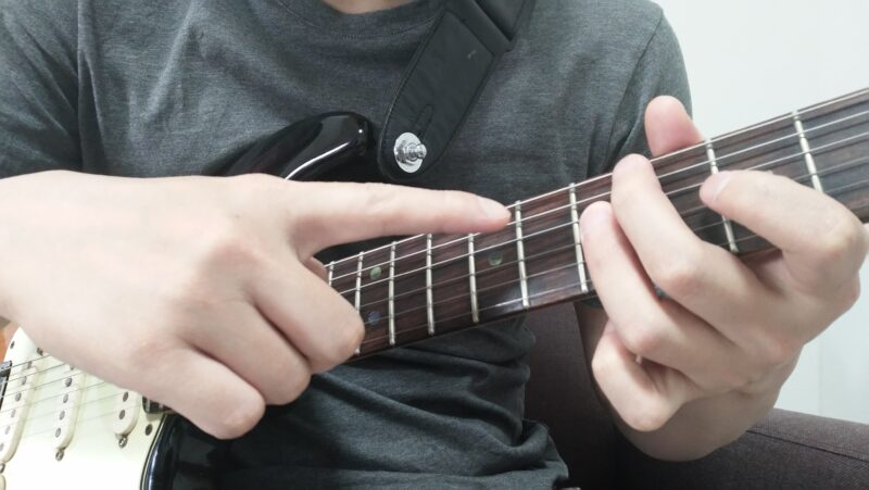 ギターのジョイントの左手のやり方