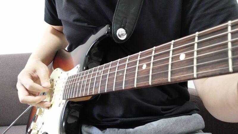 ギターのストリングスキッピングがうまくできない時に見直すポイント