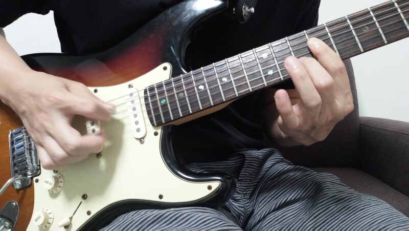 ギターのハイブリッドピッキング(チキンピッキング)がうまくできない時に見直すポイント