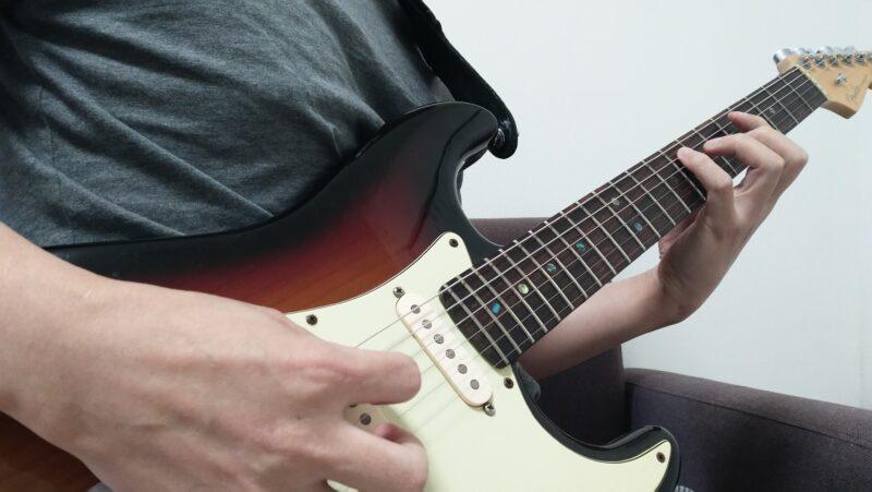 ギターのレガート奏法のやり方