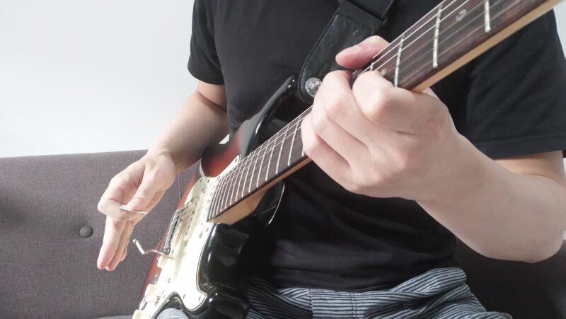 ギターのクリケット奏法のやり方