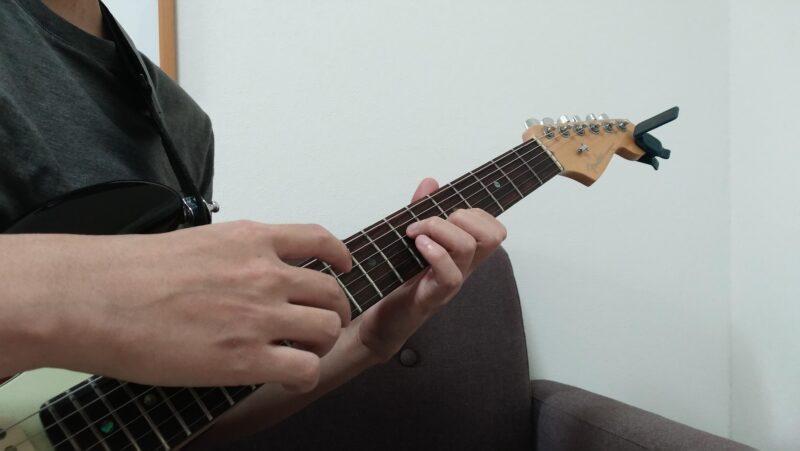 エイトフィンガー奏法の左手のやり方