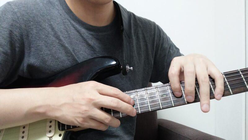 ギターのボスハンドタッピングのやり方